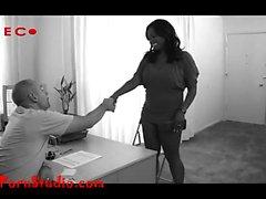 Casting gordura gordura chubby preto hussy Barbera from dates25com