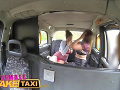 Female Fake Taxi Curvy stunning blonde with big tits