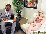 Black dong whore banged