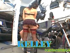 Group Sex For Hot Brunette Kelly