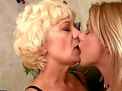 Grannies and Young Girls go wild in Nasty Sex Compilation
