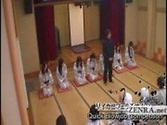 Ondertiteld rondborstige schatplichtig Japan milfs badhuis sex spel