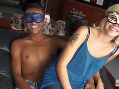 CastingAllaItaliana - Amateur blonde teen gets fucked and covered in cum in hot Italian casting