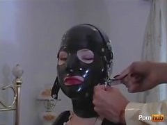 latex maid with mistress 1