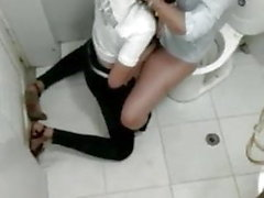 lesbians in the bar bathroom 4