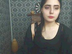 Ramonda smoking on webcam