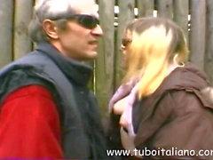 Italienisch Bewunderer Lady abgefickt Signora