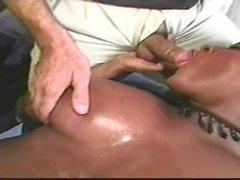 cougar ebony threesome