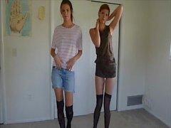 amateur teen twins strip