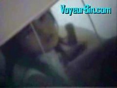 Hot asian couple fucking in a hotel on hidden cam