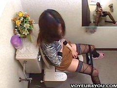 Video- Gesammelt Toilet Selbstbefriedigung