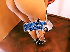 ASS PERFECTION TEEN! Kim, From ArgentinaMeGusta! Enjoy!