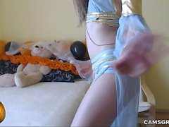 Stunning Amateur Cammodel Was Horny And Alone