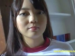 Jav Amateur Asuka Saito Gravure Teen Strips Off Her Gym Kit And Shows