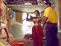 Indisk flicka avsugning