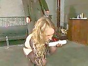 Blond Almanca bir köle kız 1-2