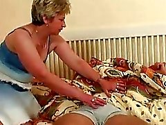 Big Tits Blonde Granny Taking Sw...