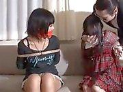 Japanische Mädchen entführt