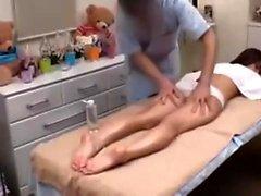 Asian amateur lady massage