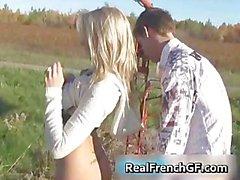 Áspero francés amiga maldito Parte5
