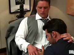 anal gay quente e Ejaculação