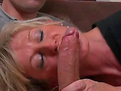 french cougar engulfing rod and getting screwed