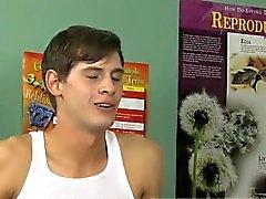 Pequena gay de Twink pinto vídeos de primeira vez em de Jayden Ellis eo Stef