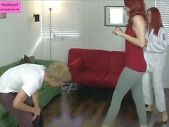 Sexy Self Defense Ballbusting Trampling Foot Vulling previe