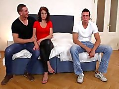 Bicurious Couples Threesome