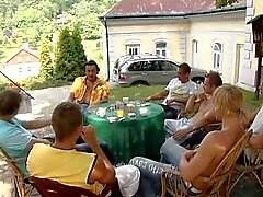 De Gangbang im neuf monat Schwanger