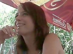 Lovely brunette czech girl selling part2