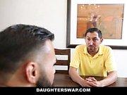 DaughterSwap - Slutty Besties Fuck Everyothers Dads