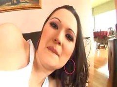 Iris Reyes Anal Ve Çift penetrasyonu önce Creampie alın alır