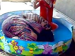 горячие девушки купания в ванне