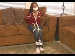 Julia Playfully Tied