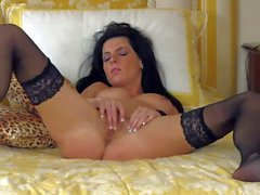 Eileen is one sexy babe in black nylon stockings. Hot - Pornsharing erotic tube