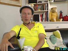 Older brits face jizz