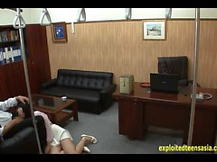 Jav Idol Ambushed And Fucked At Office