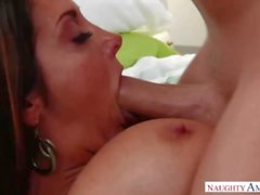 Hot Cougar Mom Ava Addams Seduced Young Son