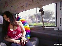 Sophie Leon sendo fodida no carro