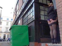 Blonde Amateur exhibitionistisch Amber Stevens Upskirt Filmmaterial