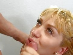 InnocentHigh Blonde small tits babe Lea Lexis clas