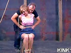hot babe shaved and bound movie