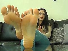 Cleo french feet