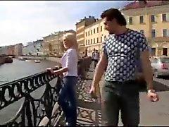 Blondes italienischer Anal Fick