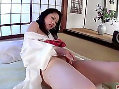Hana amazes with her blowjob and cock riding