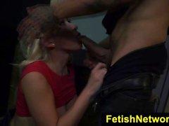 FetishNetwork Cristi Ann alley bondage