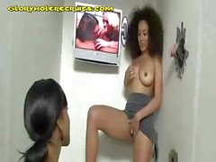 Babes Stripping In Adult Store