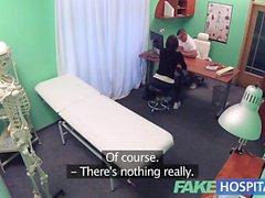 Fake Hospital Czech babe has multiple orgasms