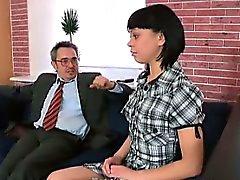 Sonia för önskar att hon lärarens cum inne i hennes munnen göra